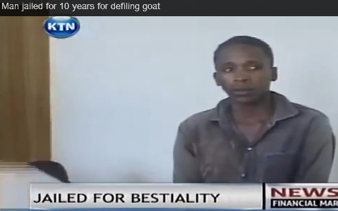Täter Sodomist Kenianer